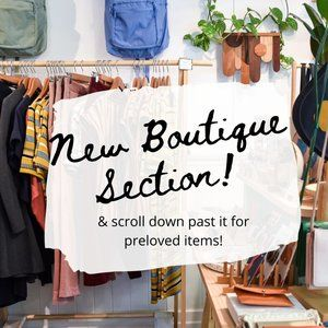 New Boutique Section!